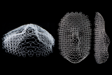 Esta estructura plana se transforma en un rostro humano cuando cambia la temperatura.