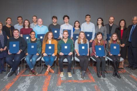 Dieciséis estudiantes de posgrado nombrados para la promoción Siebel Scholars of 2020