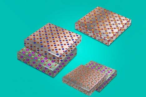 Los ingenieros mezclan y combinan materiales para crear nuevos dispositivos electrónicos expandibles