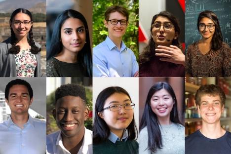 Diez becarios del MIT reciben becas Fulbright 2020