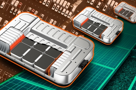 Las granjas solares podrían dar una segunda vida a las baterías de los vehículos eléctricos.