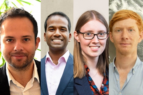 Cuatro miembros de la facultad del MIT reciben premios de carrera temprana del Departamento de Energía de los Estados Unidos