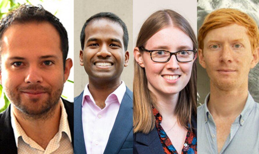 Cuatro profesores del MIT reciben premios de carrera temprana del Departamento de Energía de EE. UU. Noticias del MIT