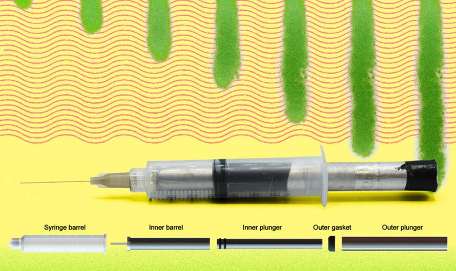 La tecnología de jeringas podría permitir la inyección de fármacos biológicos concentrados | Noticias del MIT