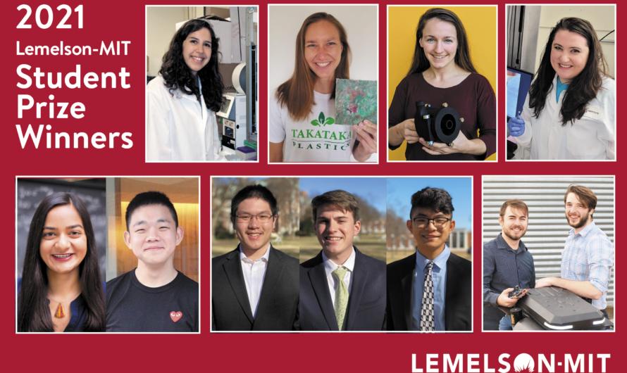 Los mejores inventores universitarios reciben el premio para estudiantes 2021 Lemelson-MIT | Noticias del MIT