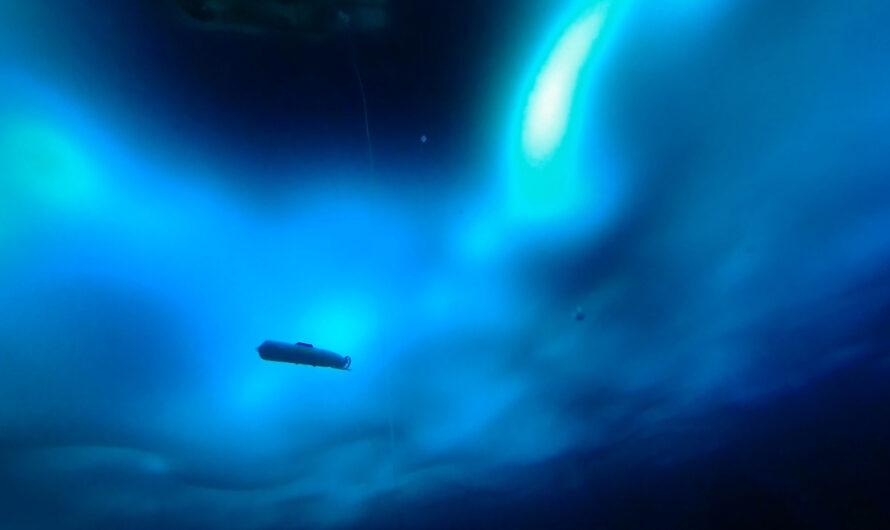 Navega bajo el hielo ártico | Noticias del MIT
