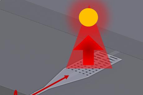 Nano linterna permite nuevas aplicaciones de luz | Noticias del MIT